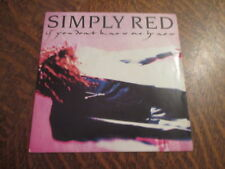 45 tours simply red if you don't know me by now