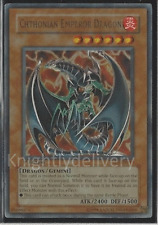 Gemini Budget Deck - Chthonian Emperor Dragon - Gearfried - Lancer - NM 40 Cards
