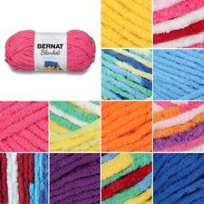 Bernat Blanket Brights Super Chunky Yarn Polyester Knitting 150g Ball
