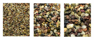 ~ Aquarium Fish Tank Stones & Gravel 100% Natural Substrate Coloured 4 Colours ~