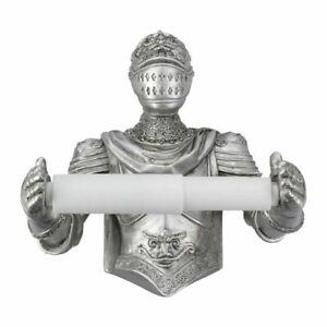 Brave Knight 20cm Medieval Knight Toilet Roll Holder Nemesis Now Gothic Fantasy