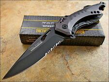 Couteau de Bicker O/A Brise Vitres & Tournevis Acier 440 Tac Force TF705GY