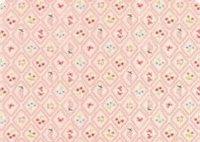 Home Sweet Home by Moda and Stacy Iest Hsu- 1/2 Metre Pink - 100% Cotton