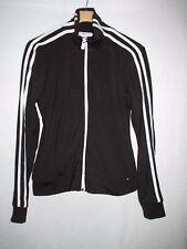 Tommy Hilfiger Jeans Black Polyester Blend Zip Front Jacket  Women's L  M43