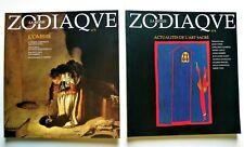 ZODIAQUE, La Revue. 2 numéros : n°3 & n°4. Editions Zodiaque. 1999.