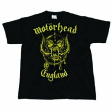 Motorhead Unisex Tee England Classic Gold - Large Mheadtee09mb03