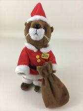 Otterbox Ollie Otter Plush Stuffed Animal Toy Santa Claus Christmas Holiday Toy