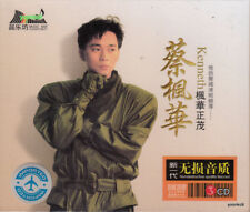 Kenneth Choi  蔡楓華  楓華正茂  + Greatest Hit 3 CD 60 Songs 24K Hi-Fi Sound