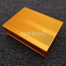 DIY Aluminum Project Box Enclosure Instrument Case Electronic Case 100x76x35 mm