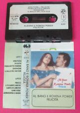 MC AL BANO CARRISI E ROMINA POWER Felicita'1982 italy CGD BABY no cd lp vhs dvd