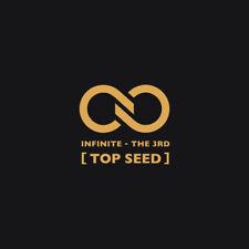 KPOP : INFINITE [ TOP SEED ] THE 3RD ALBUM + photobook + card (US SELLER)