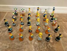 The Simpsons 3D Chess Pieces Lot of 31 Pieces 1992 not complete replacements