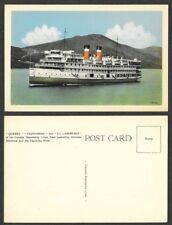 Old Canada Ship Postcard - Steamer from Canada Steamship Lines, Quebec