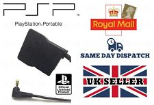 OFFICIAL GENUINE SONY PSP SLIM & LITE CHARGER AC POWER ADAPTER UK 3 PIN PLUG 383