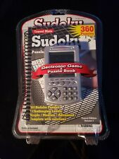 Pocket Sudoku Electronic Game with Puzzle Book New Sealed