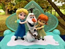 Jakks Pacific FROZEN Disney Queen Elsa Anna Olaf Music Box Build a SNOWMAN  ❤️