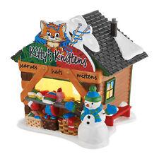 NEW- Dept 56 Snow Kitty's Knittens Cat Kitten Sweater Farmer Market 4050981