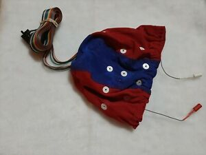 Electro-Cap 19 Point EEG Surgical Cap w/ Ear Drops  Large / Medium Red&Blue