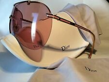 CHRISTIAN DIOR AIR PINK AVIATOR SUNGLASSES NEW