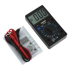 Digital Multimeter Electric Voltmeter Ammeter Tester AC/DC Amp Volt Meter Black