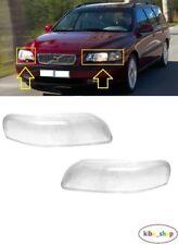 VOLVO S80 1998-2006 Headlight Glass Lens RIGHT