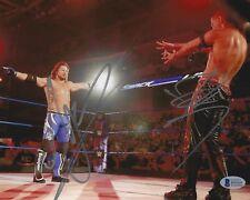 AJ Styles & Shinsuke Nakamura Signed 8x10 Photo BAS Beckett COA WWE Wrestlemania
