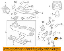 MERCEDES OEM 12-15 ML350 INTERIOR TRIM-REAR BODY-Auxiliary Outlet 0008206251