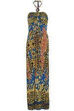 Polyester Paisley Casual Women's Maxi Dresses