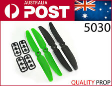 4 x 5030 Props 5x3 Propellers Multirotor 4pcs 2 pairs CW and CCW (green+ black)