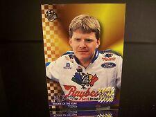 Rare Jeff Burton #8 Raybestos Brakes Press Pass AWARD WINNE 1995 Card #109 ROTY