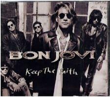 Bon Jovi Keep The Faith 2 track US Dj Gatefold CD