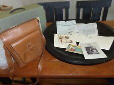 Ghurka GB 4 Gearpack Dark Tan Leather New in Box w/ all Paperwork Carrier Bag