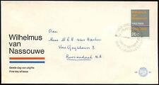 Paesi Bassi 1968 olandese INNO NAZIONALE FDC primo giorno Coperchio #C 27339