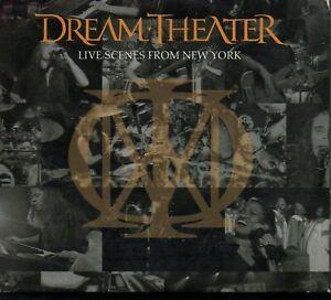 DREAM THEATER - Live Scenes From New York - 3xCD Album *Digipak*