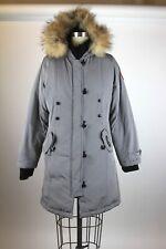 Canada Goose Parka Gray Womens Coyote Fur sz S/P