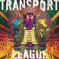 TRANSPORT LEAGUE - TWIST AND SHOUT AT THE DEVIL (BLACK VINYL)   VINYL LP NEW!