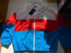 Brand New Men New Balance Boston Marathon Running Windbreaker Jacket Size M