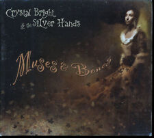 Crystal Bright And The Silver Hands - Muses & Bones (CD, Digipak, 2011)