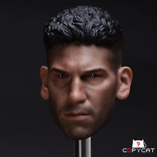 """Copycat The Punisher Jon 1/6 Male Headsculpt Fit 12"""" Strong Action Figure Toys"""