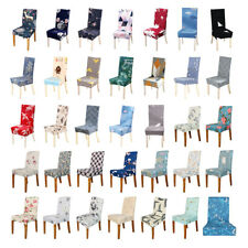 Printed Stretch Seat Chair Cover Slipcover Banquet Hotel Stretch Seat Covers