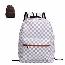 Unbranded Check Backpack Handbags