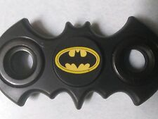 Batman Batarang Fidget Spinner Black with bat logo sticker Free Shipping USA