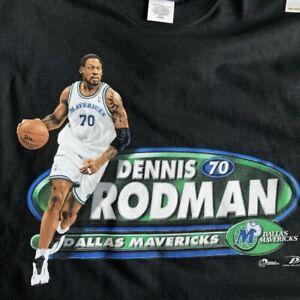 Dennis Rodman Dallas Mavericks Shirt Vintage Gift For Men Women Funny Black Tee