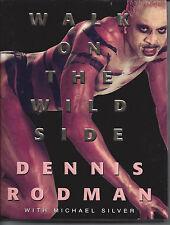 "Dennis Rodman's Book ""Walk on the Wild Side"" Psa Autograph"