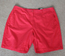 Ladies Marks and Spencer Collection Hot Pink Cotton Shorts Size 16