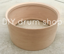 "5.5x14"" snare drum shell {10 ply maple w/ re-rings, bearing edges & snare beds}"
