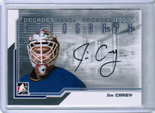 13/14 ITG DECADES 1990s JIM CAREY A-JC AUTOGRAPH AUTO WASHINGTON CAPITALS