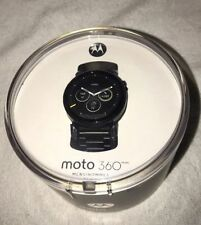 Motorola 00905NARTL Moto 360 2nd Generation Mens 46mm Smart Watch Black Gen
