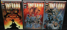 Inferno: Hellbound #s 1-3 3pc LOT - Top Cow - (High Grade) - 2001