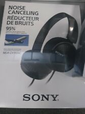 Sony ZX110 NC Kopfhörer mit Noise Cancaling und Freisprechfunktion
